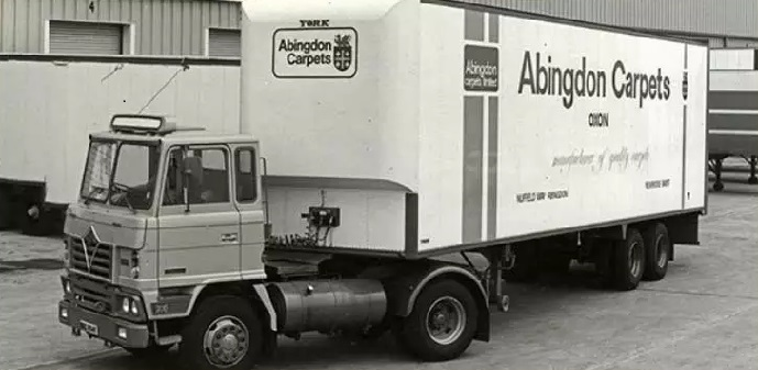 Abingdon Carpets Lorry