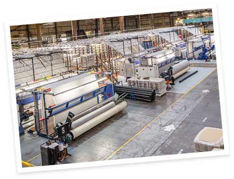 Abingdon Floorings 2006 Tufting Machine