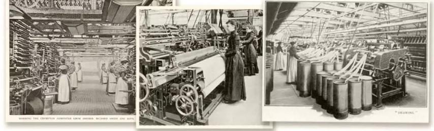Abingdon Floorings factory in their earliest years